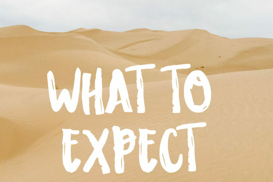 What to expect at Gray's Well Dunes