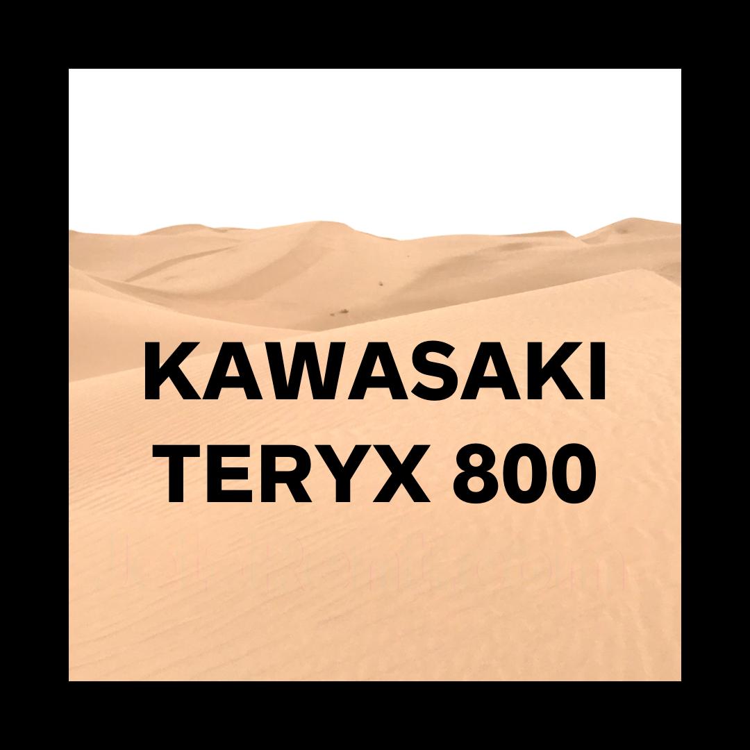Kawasaki TERYX 800 Rental