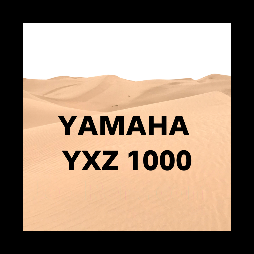 Yamaha YXZ 1000 Rental