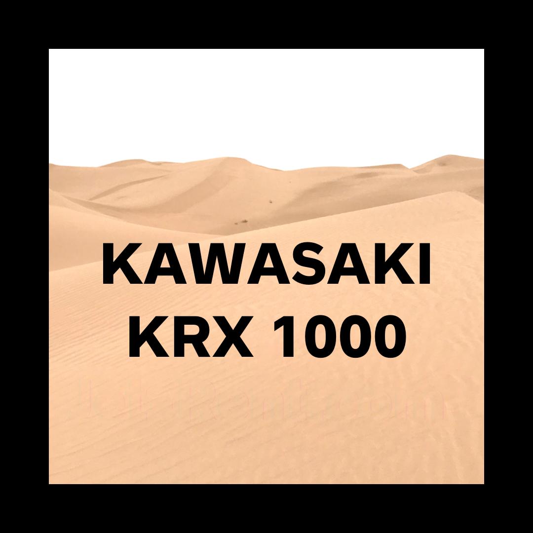 Kawasaki KRX 1000 Rental