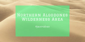 Nothern Algodones Wilderness Area