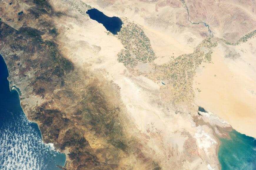 The beauty of Yuma Desert