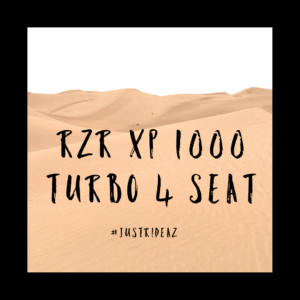 RZR XP100 Turbo for rent